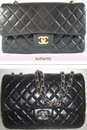 How to spot a fake vs real Chanel bag